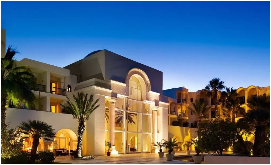 Entree Hotel The Residence Tunis