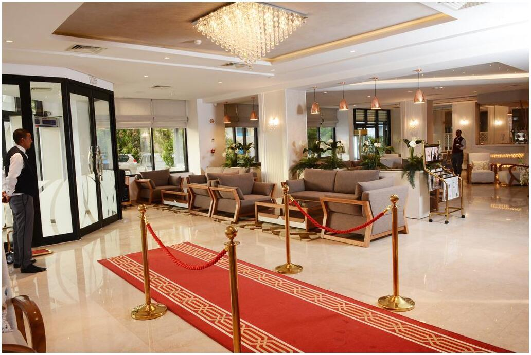 Hotel Marigold Tunis reception