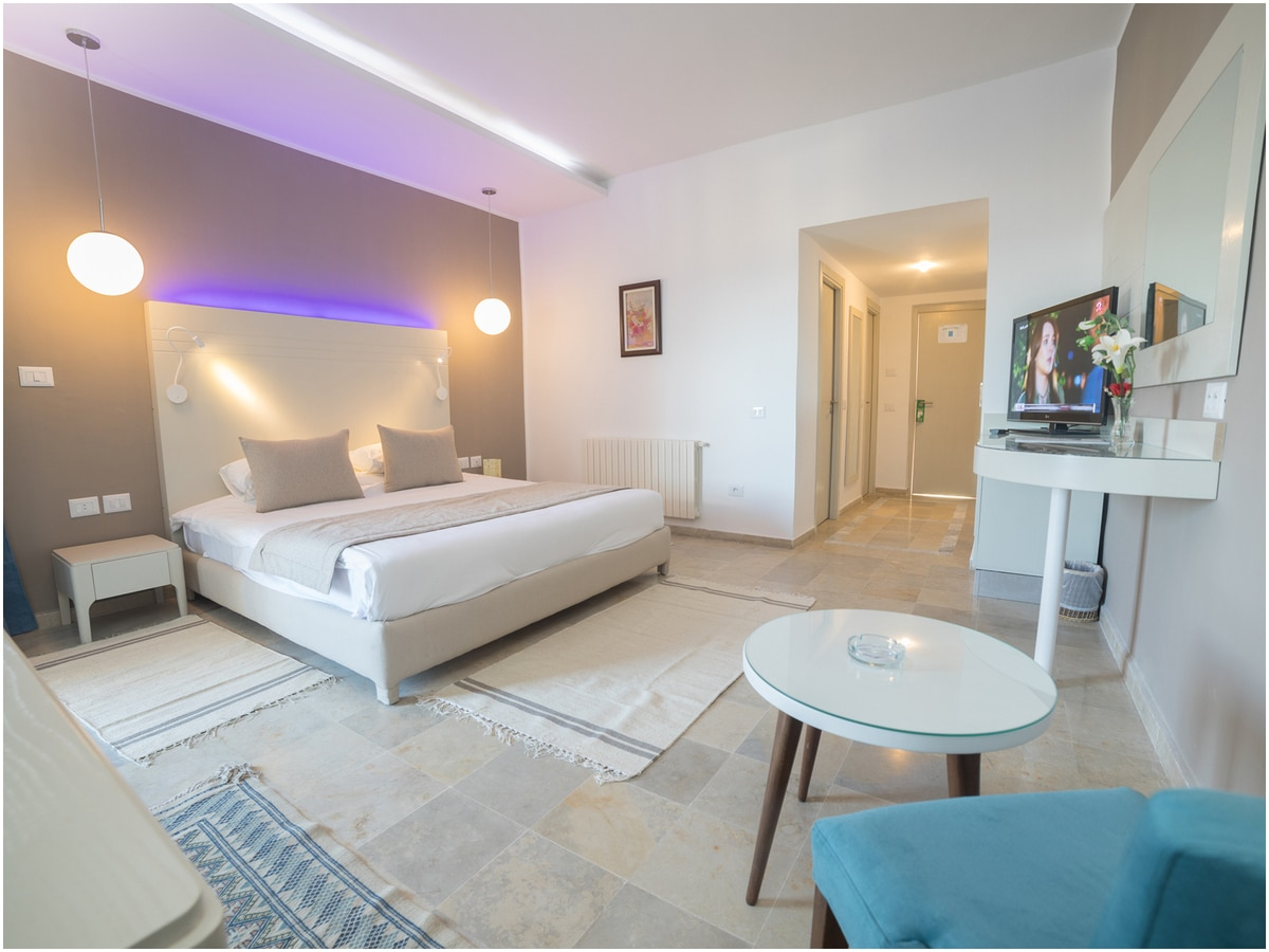 hotel chems gabes chambre